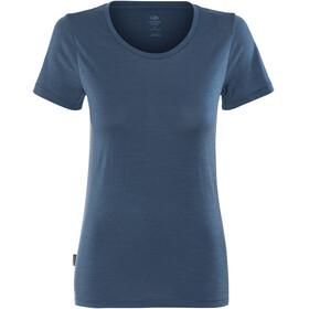 Icebreaker Tech Lite Shortsleeve Shirt Women blue